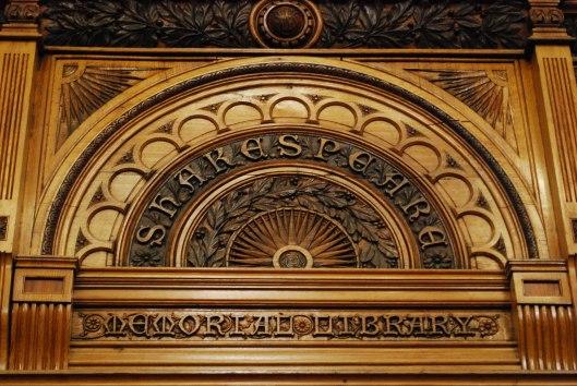 Entree Shakespeare Memorial Library