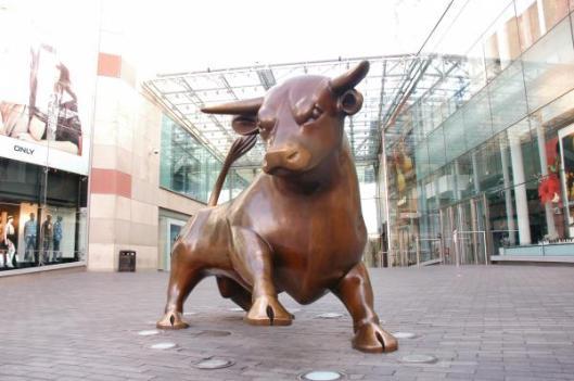 De bronzen stier van Birmingham