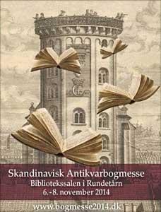 The old library of the Round Tower in Copenhagen will be hosting the Scandinavian Book Fair 2014 (zie ook: Boekendingen).