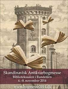 The old library of the Round Tower in Copenhagen will be hosting the Scandinavian Book Fair 2014 (zie ook: Boekendingen).