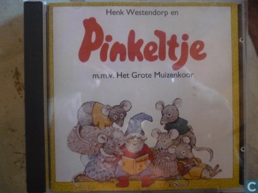 CD van 'Pinkeltje' door Henk Westendorp en het grote muizenkoor uit 1993 (Peter's Music Factory)