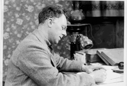 Schrijver Jan Feith in de film van Dick Laan (Eye)