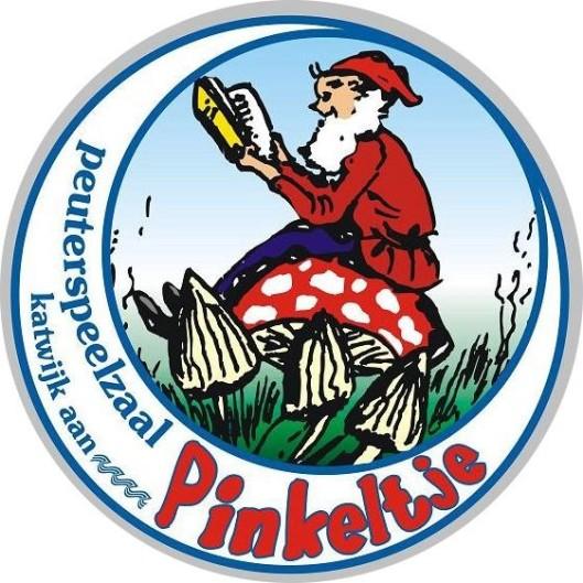 Logo van één van de vele peuterspeelzalen 'Pinkeltje', hier van Katwijk aan Zee