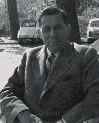 Dick Laan in Groenendaal, waar hij twee korte films heeft opgenomen