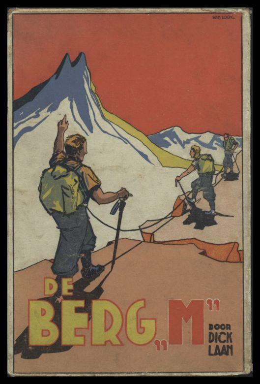Vooromslag van Dick Laan: De Berg M (in Zwitserland), 1935
