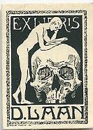 Exlibris van Dick Laan
