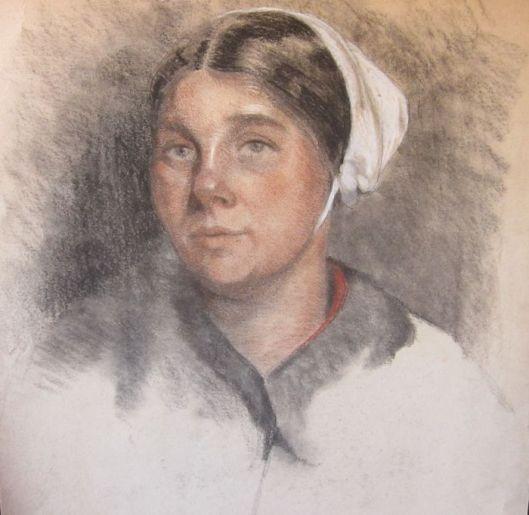 Familie van Dick Laan was Cornelis (Kees) Laan, in 1902 geboren te Bloemendaal. Is werkzaam geweest als kunstschilder, tekenaar en graveur. Was o.a. lid van Kunst Zij Ons Doel en woonde in o.a Heemstede, Amsterdam en Blaricum. Van Kees Laan is bovenstaand vrouwenportret