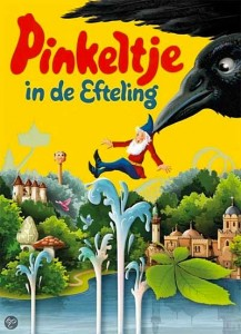 Het nieuwste en niet onomstreden boek: Pinkeltje in de Efteling