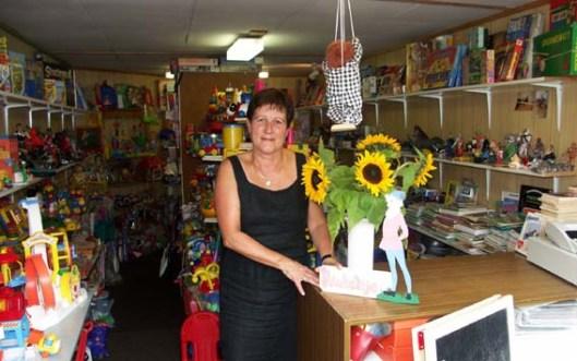 Een speelgoedwinkel 'Pinkeltje' in Goirle is opgericht in 1985