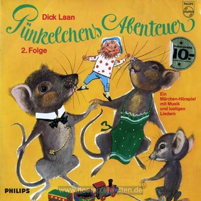 Ook in Duitsland zijn hoorspelen uitgekomen, gebaseerd op de Pinkeltje-boeken van Dick Laan
