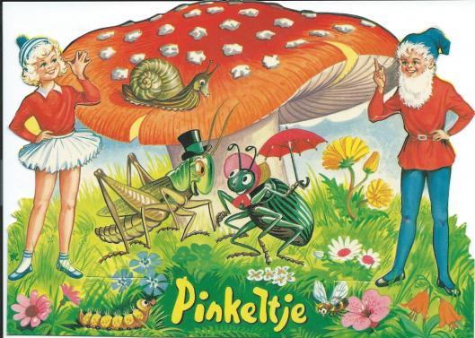 Nog een reclame voor Pinkeltje-boeken
