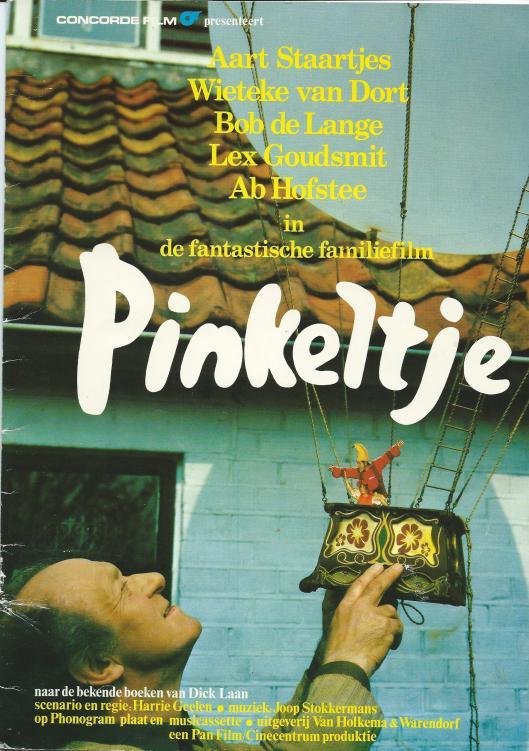 Affiche voor de familiefilm Pinkeltje