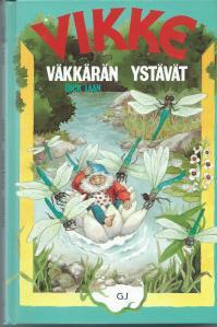 Vooromslag van Finse uitgave van Pinketje, daar Vikke gegeten