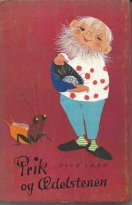Deense vertaling van Dick Laan: Pinkeltje en de fonkelsteen. Tussen 1957 en 1960 verschenen 5 vertalingen van Pinkeltje in de Deense taal