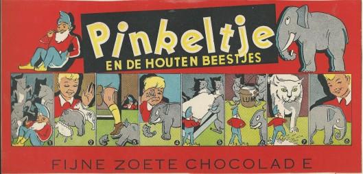 Nog een chocoladedoos met Pinkeltje uit 1938