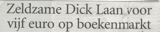 Kop van bericht uit het Haarlems Dagblad van 1 juli 2002