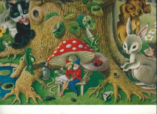 Illustratie van Frans Funke (1908-1993)