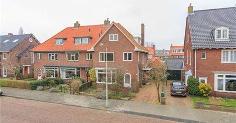 In 2015 staat het woonhuis van Dick Laan, Wagnerkade 61 Heemstede, te koop.