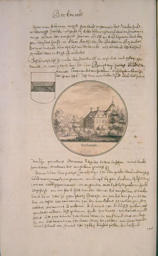Uit: Atlas Andries Schoemaker (K.B.-Den Haag) [Deze atlas bevat werk van Andries Schoemaker, Gerrit Schoemaker, Coenelis Pronk en Abraham de Haen].