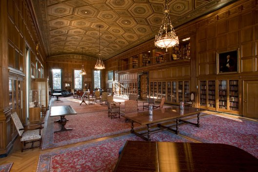 Bibliotheek van miljonair en bibliofiel William L.Clements (1864-1931) in Ann Arbor