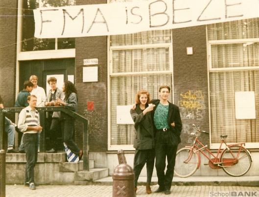 Na het vertrek van Kees Fens naar Nijmegen vond een bezetting plaats van de FMA, afdeling boekhandel en uitgeverij in 1987
