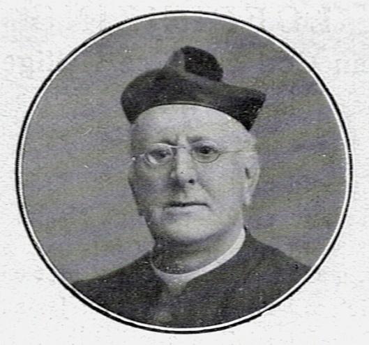 Portret van pastoor H.A.V.IJzermans uit 1919 (KDC-Nijmegen)