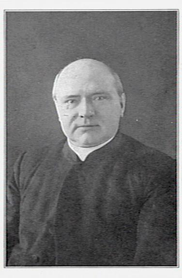 De heer G.J.M.Kabel, pastoor in Bennebroek van 1897 tot 1907