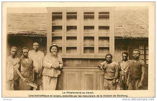 Een door missionarissen gestichte bibliotheek in Kameroen