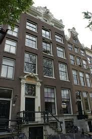 Het grachtenpand Keizersgracht 225 waar de Bibliotheek- en Documentatieschool in Amsterdam vanaf 1964 was gehuisvest