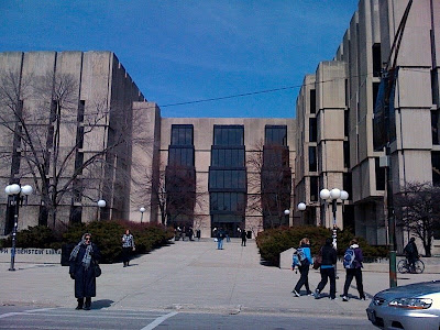 Regenstein Library, University of Chicago
