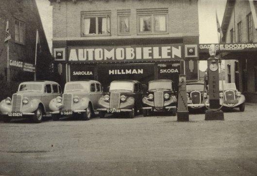 Garage Roozekrans aan de Zandvoortselaan in Heemstede
