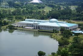 Sarawak Staatsbibliotheek, Kuching, Maleisisch Borneo