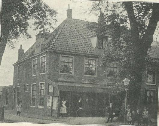 De Oude Geleerde Man in Bennebroek begin 1900