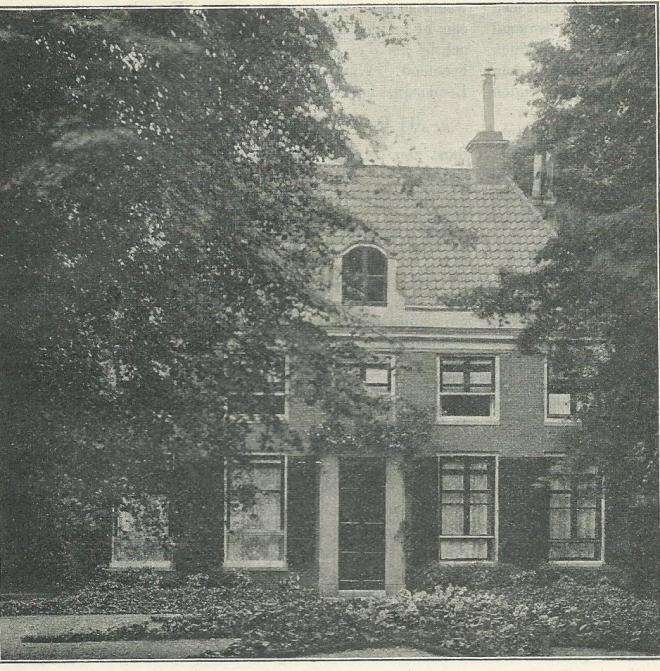 Het Huis te Bijweg in Bennebroek begin 1900