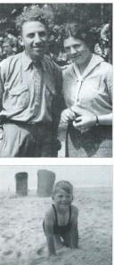 Jaap Meijer en echtgenote Liesje Voet. Onder Ischa. Uit: Mirjam Meijer, Mijn broer Ischa. Amsterdam, Vasallucci, 1997