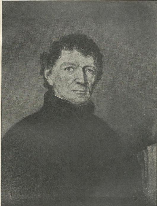 Portret van Jacobus J.Tielen, pastoor van Berkenrode van 1828 tot 1843 (Pastorie Berkenrode; foto Hans Poldermans)