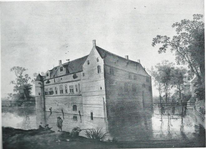 Het Huis te Heemstede naar een schilderij gedateerd 1610.