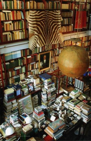 De voormalige huisbibliotheek [Bibliotheca Didina et Pinguina] van Boudewijn Büch, in 2004-2005 geveild bij Bubb Kuyper in Haarlem