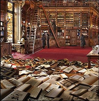 Bibliothèque Idéale; par J.F.Rauzier