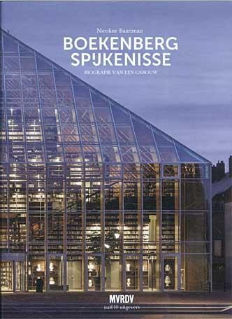 Publicatie over de 'Boekenberg Spijkenisse' goor Nicoline Baartman. Een uitgave van nai10 in Rotterdam telt het boek 440 pagina's en te bestellen voor 25 euro
