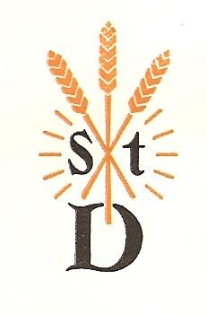 Oudste logo van r.k. landarbeidersbond 'Sint Deusdedit'