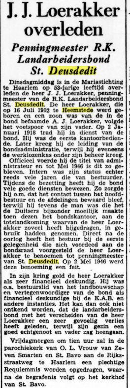 Uit: De Tijd van 31-8-1955