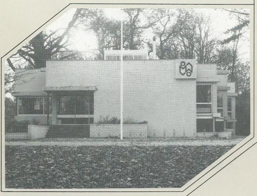 Bibliotheek Bennebroek. Voorzijde gemeentegids 1990