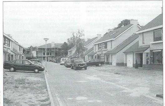 Parnassialaan in het nieuwe bouwproject Bennebroek, 2000