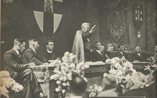 Toespraak van bisschop mgr. J.P.Huibers ter gelegenheid van het 25-jarig ambtsjubileum van A.J.Loerakker in 1938