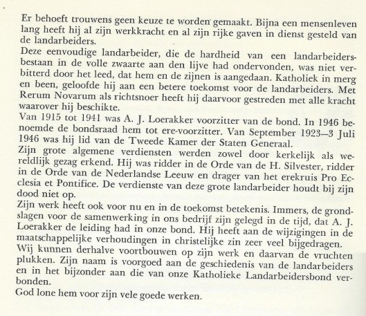 A.J.Loerakker (vervolg)