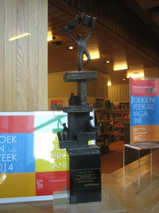 Prijsbeeld voor centrale bibliotheek in Rozet Arnhem verstrekt door NDD-Biblion
