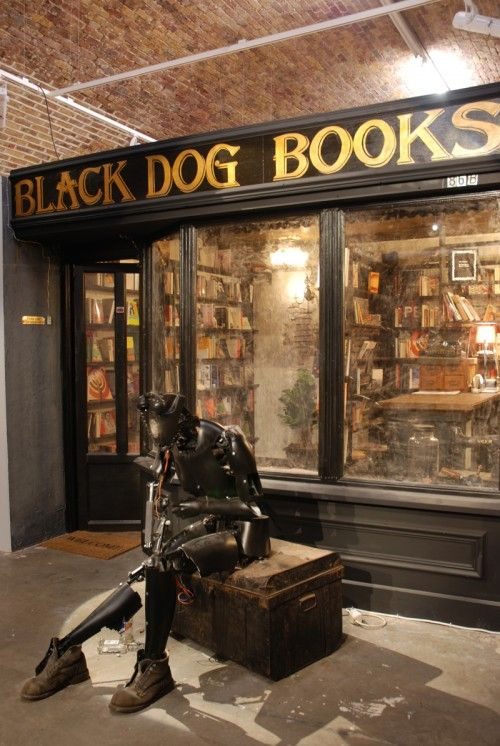 Black Dog Books, 83 Rivington Street, London