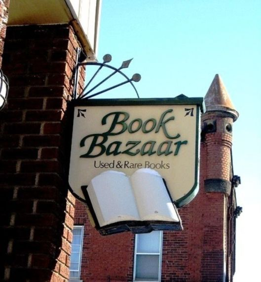 Book Bazar (via Pinterest)