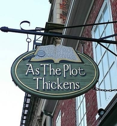 Boekhandel 'As The Plot Thickens'